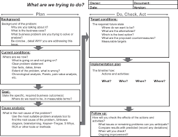 a3 report template 28 images of a3 process template infovia net