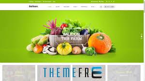 theme wordpress agriculture balloon organic farm food business agriculture wordpress theme