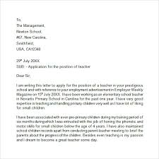 How To Write An Application by Best Ideas Of How To Write An Application Letter For Teaching