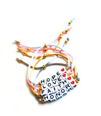 make bracelet with name images Alphabet beads word name adjustable bracelet by knotsofancy jpg