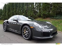 porsche 911 2016 slate grey paint to sample 2016 porsche 911 turbo s coupe
