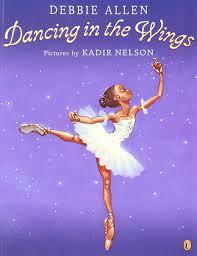 dancing in the wings debbie allen kadir nelson 9780142501412