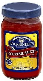bookbinders cocktail sauce bookbinder s cocktail sauce calories nutrition analysis more