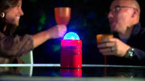 ion bluetooth speaker with lights ion audio party starter bluetooth speaker w party lights with
