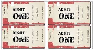 concert ticket template word 6 ticket templates for word to