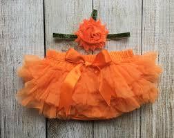 Baby Halloween Costumes Pumpkin Pumpkin Headband Etsy