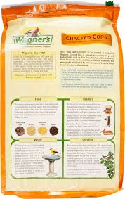 wagner u0027s cracked corn premium wildlife food 10 lb bag chewy com