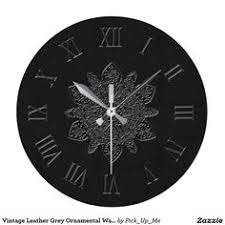 wooden antique numeral wall clock zazzle home decor
