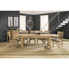 8 Pc Dining Room Set Modus Autumn 11 Piece Dining Table Set Walmart Com