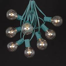 clear c7 outdoor light string sets novelty lights inc