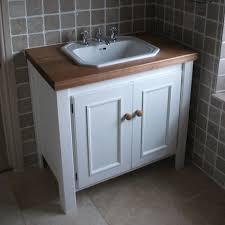 Bathroom Vanities Albuquerque Solid Oak Vanity Unit With Basin Sink 700mm Bathroom Prestige For