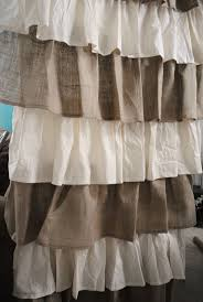 Ruffled Kitchen Curtains by Fabulous Ruffled Kitchen Curtains Also Make Your Own Expensive