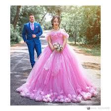 pink dress for wedding vintage princess pink wedding dresses made flowers