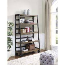 Bookcases Com Gray Bookcases Home Office Furniture The Home Depot