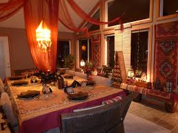 Moroccan Inspired Curtains Decorations Exquisite Moroccan Dining Room Designs Digsdigs As