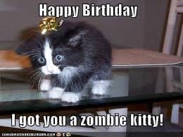 Zombie Birthday Meme - happy birthday sehdae www darkgrimoire com