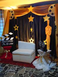 Movie Canopy by My Hollywood Movie Reel Held Pictures Of The Birthday From