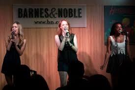 coverage heathers cast celebrates album release at barnes u0026 noble