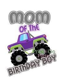 boy u0027s birthday shirt monster truck birthday shirt monster truck