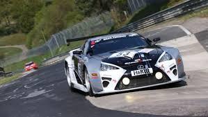 lexus lfa racing gazoo racing fields lexus lfa duo in nürburgring 24 hours lexus