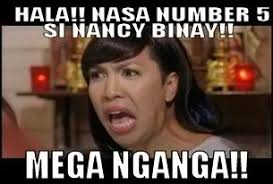 Nancy Meme - netizens quips nancy binay s apparent win nite writer