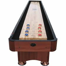 barrington 9 solid wood shuffleboard table playcraft coventry cherry 16 shuffleboard table walmart com