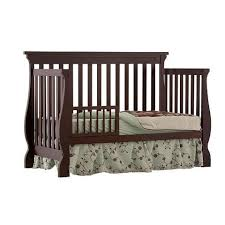 Espresso Convertible Cribs by Stork Craft Carrara 4 In 1 Fixed Side Convertible Crib Espresso