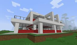 small modern house in minecraft projects to try pinterest