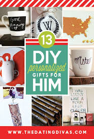 personalized gifts for him 101 diy christmas gifts for him the dating divas