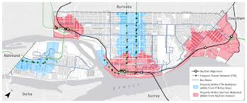 Vancouver Skytrain Map Turning The Frequent Transit Network Into A Useful Planning Tool