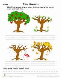 free printable worksheets for kids learn seasons worksheets