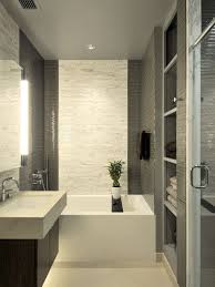 designer bathrooms ideas modern bathroom exle of a minimalist gray tile bathroom design