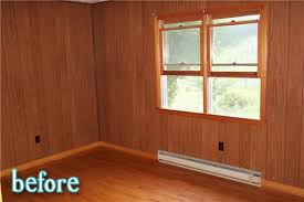 how to paint over wood paneling room by rose better after