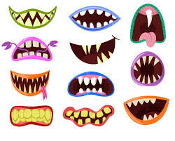monster mouth clip art monster clipart halloween clipart cute