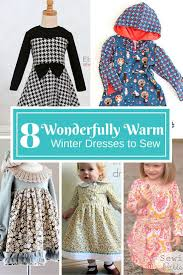 8 wonderfully warm winter dresses to sew for girls dress sewing
