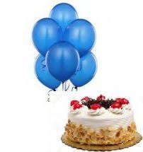 cake and balloon delivery cakes and balloons to india balloon bouquets with cake to india