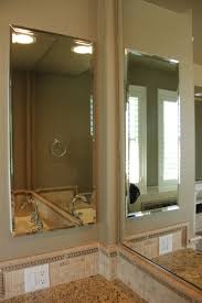 bathroom mirror corner protector inspiration and design ideas