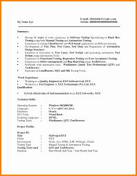 Qtp Resume 100 Common App Resume Resume For Residency Application