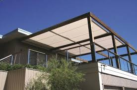 patio overhang ideas retractable awnings outdoor shade solutions