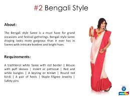 How To Drape A Gujarati Style Saree Learn How To Wear A Saree