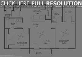 bedroom cool 2 bedroom house floor plans home decor color trends