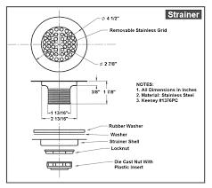 standard sink drain size sink drain hole size sink ideas