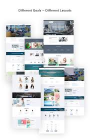 vertex landing pages with page builder business ui kit by jetimpex