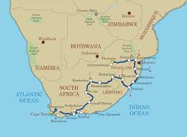 Victoria Falls Map Shongololo Express Capetown To Pretoria By Rail 15 Days 14