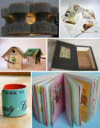 Upcycle Old Books - read between the lines of old books with these repurposing ideas
