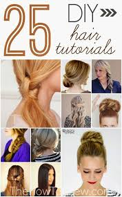 Hairstyle Diy by Diy Haircuts For Long Hair Hair Style And Color For Woman
