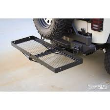 cargo rack for jeep rugged ridge 11580 20 receiver hitch with cargo rack 07 15 jeep