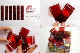 christmas gift bow your own diy christmas gift bows using strips of 35mm