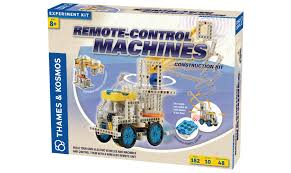 Build Your Own Toy Box Kit by Science Kits Remote Control Machines