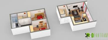small house floor plan yantram studio 3d architectural animation